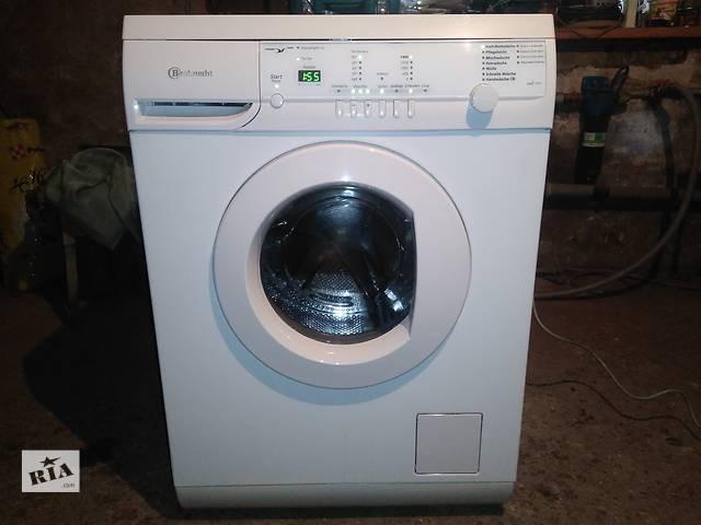 стиральная машина из германии БАУКНЕКТ 1400обх.5кг. хорошее состояние.- объявление о продаже  в Львове