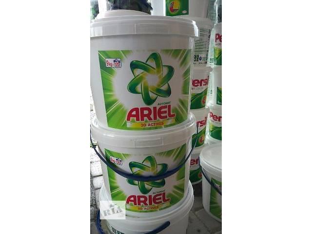 продам Стиральный порошок Ariel 3D Actives 9 кг / 120 ст бу в Ужгороде