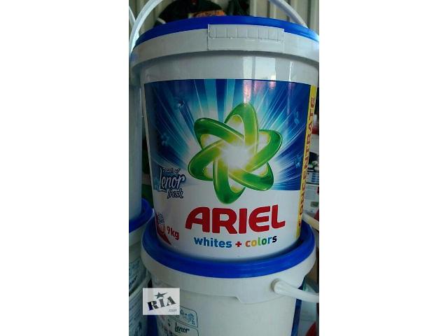 продам ОПТОМ!!!  Стиральный порошок Ariel Touch of Lenor Fresh 9 кг бу в Ужгороде