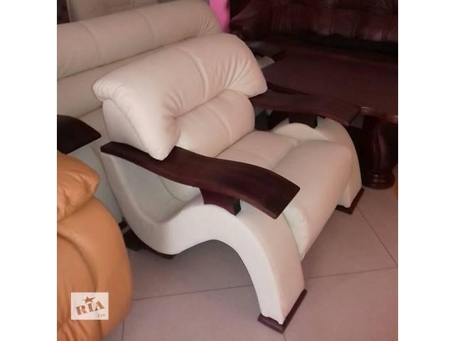 продам современная мебель хай тек,комплект модернований диван + 2 кресла Sigma бу в Дрогобыче