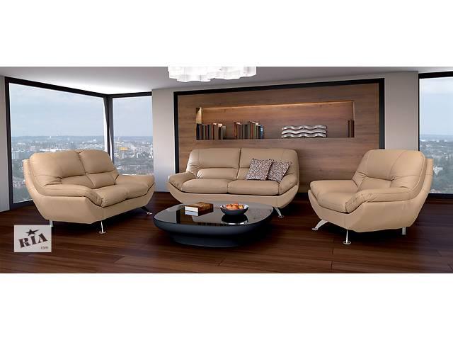 купить бу современный модернований комплект мебели Ibiza.кожаная мебель хай-тек в Дрогобыче