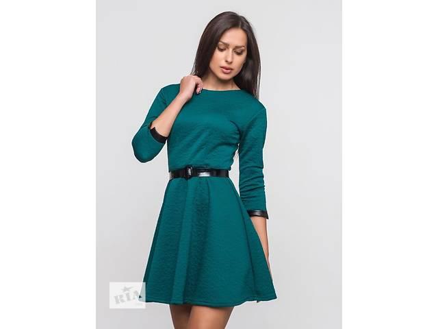 бу Платье зеленое с поясом 44р новая в Кропивницком (Кировоград)