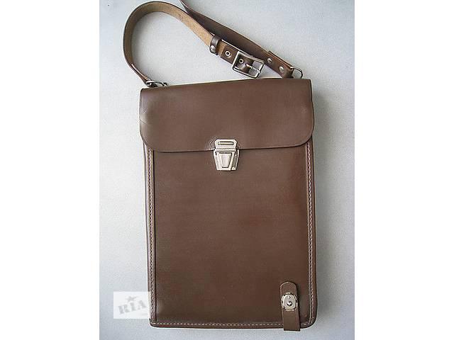 сумка-планшет армейская, натуральная кожа- объявление о продаже  в Мариуполе