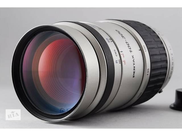 купить бу Отличный телезум Pentax-FA 100-300mm F4.7-5.8 в Киеве