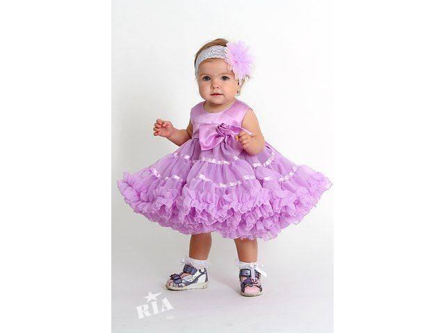 Нарядное платье для девочки своими руками 1 год