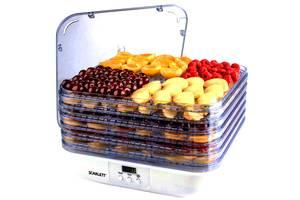 б/у Сушилки для фруктов и овощей Scarlett