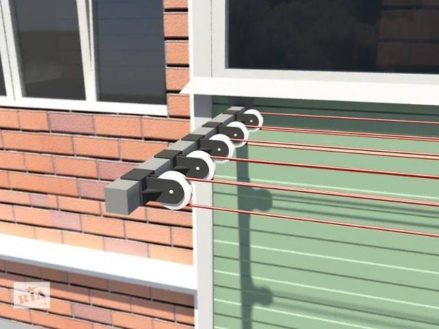 Как сделать сушилку для белья за балконом своими руками