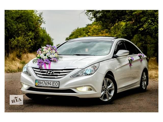 купить бу Авто на свадьбу, Hyundai Sonata YF (VIP) Кортежи по самым низким ценам в Одессе