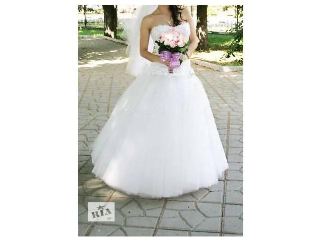 купить бу Свадебное платье 2016 г. в Лисичанске