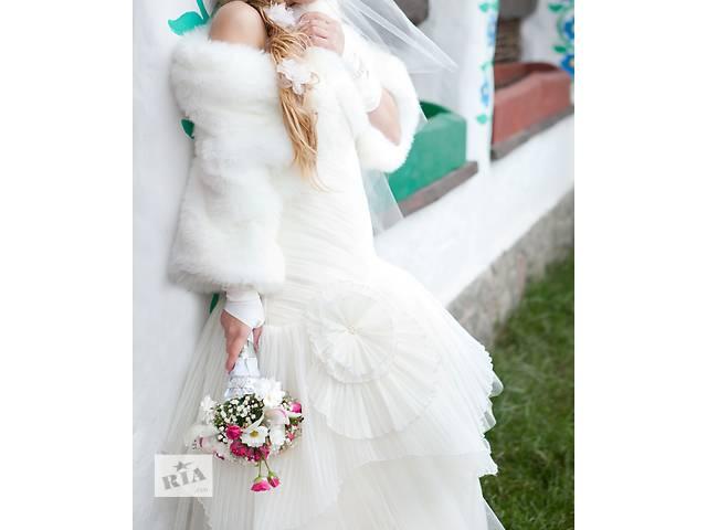 купить бу Свадебное платье цвета айвори в Харькове