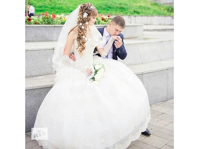 продам свадебное платье в идеальном состоянии бу в Овидиополе