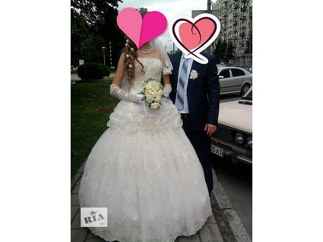 бу Свадебное платье в идеальном состоянии в Овидиополе