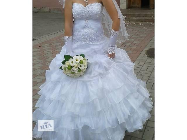 Свадебное платье- объявление о продаже  в Запорожье