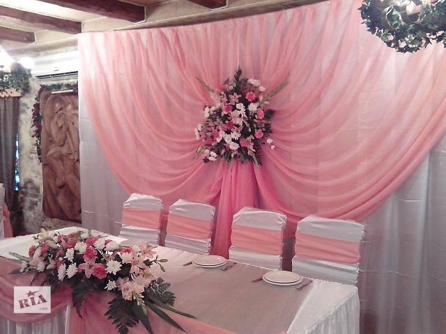 купить бу Свадебное оформление, свадебная флористика, свадебные арки на прокат в Киеве
