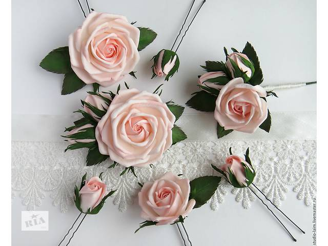 цветы из фоамирана набор инструментов