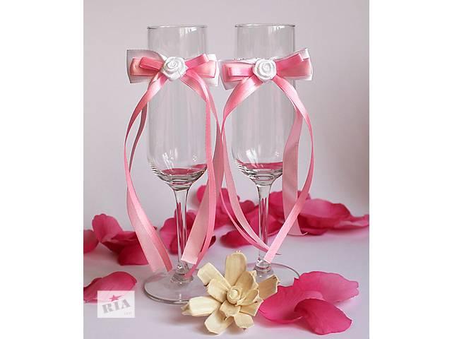 Свадебные бокалы на любой вкус- объявление о продаже  в Новой Каховке