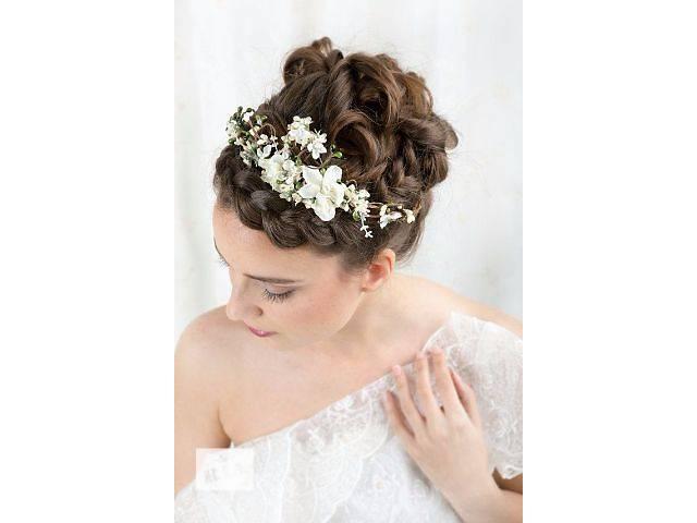Свадебные прически , макияж. Свадебный стилист.- объявление о продаже  в Киеве