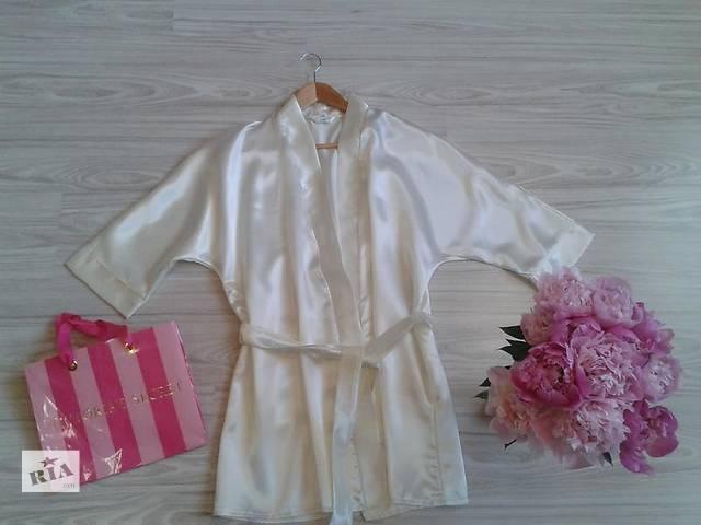купить бу Свадебный атласный халат невесты в Ужгороде