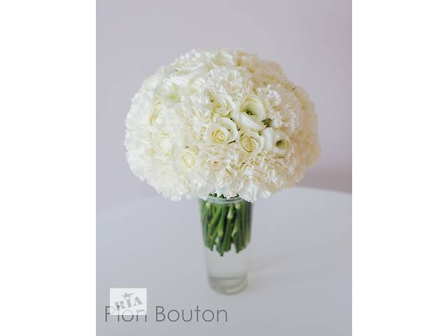 продам Свадебный букет из живых цветов от Pion Bouton бу в Киеве