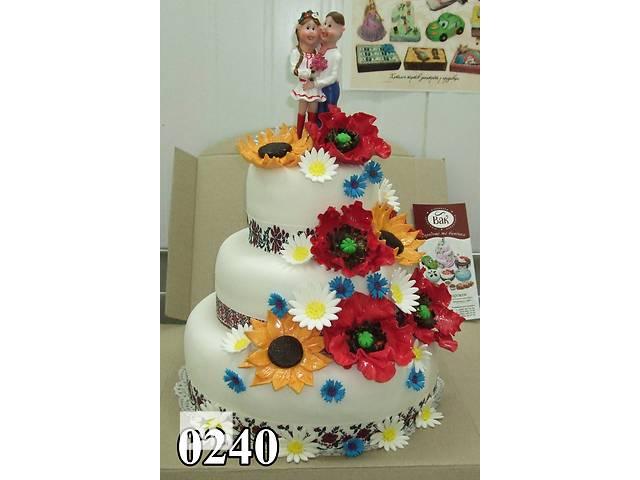 купить бу Свадебный торт, каравай в Виннице
