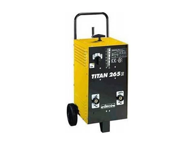 продам Сварочный трансформатор DECA TITAN 265E бу в Донецке