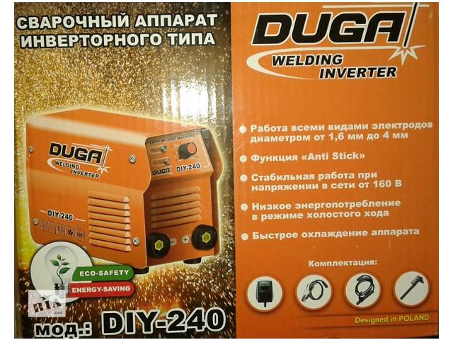 бу Зварювальний інвертор DUGA DIY-240 в Николаеве