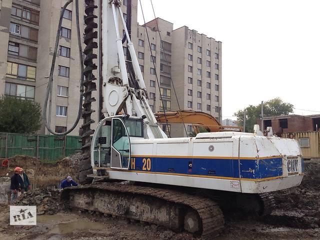бу Свайные работы и устройство фундаментов  в Украине