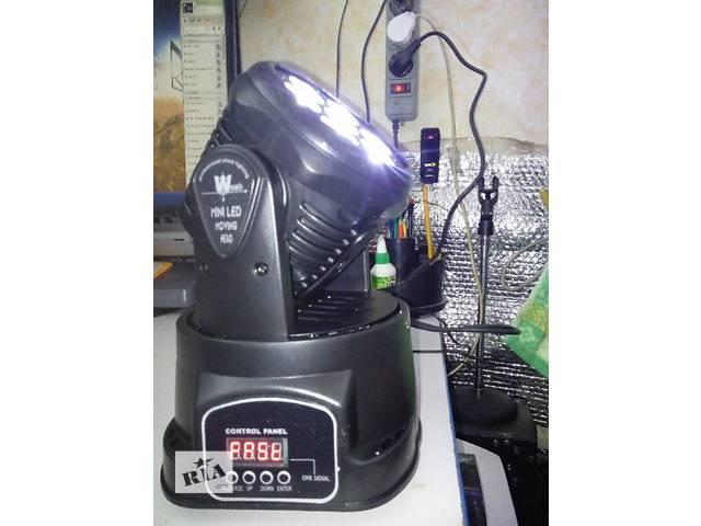 продам Светодиодная Голова New DJ LED 7*12w бу в Тернополе