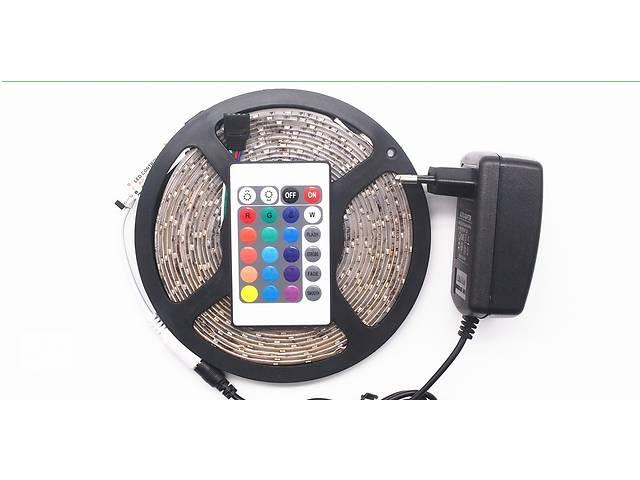 бу Светодиодная (LED) лента RGB 5м + контроллер+ блок питания+ пульт в Новой Каховке