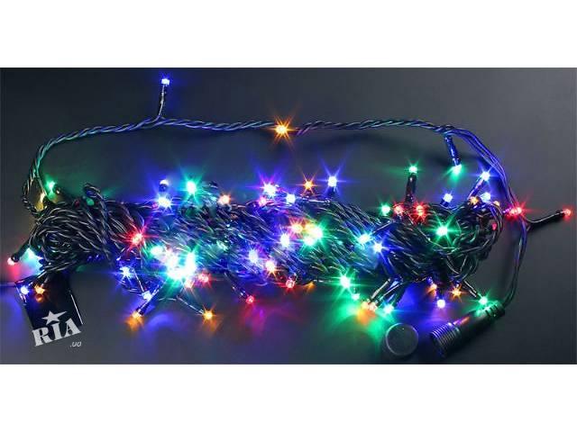 Светодиодная гирлянда нить 10 м и 20 метров,гирлянда для дерева,новогодняя световая нить- объявление о продаже  в Киеве