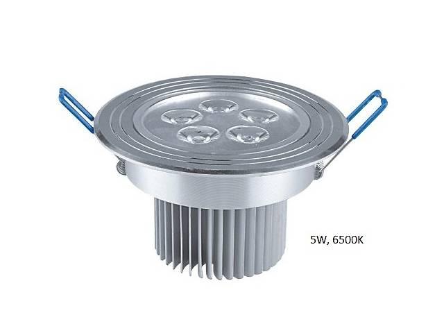 купить бу Светодиодный потолочный поворотный Led светильник 5 W в Киеве