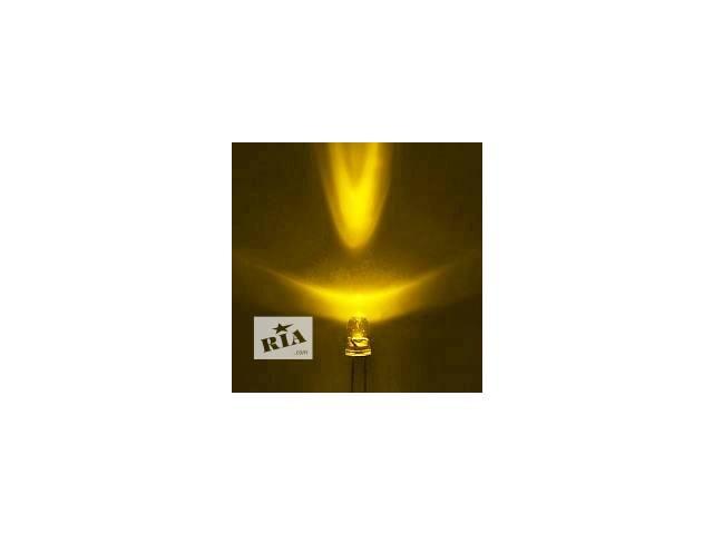купить бу Светодиоды Супер-яркие желтые 5мм в Николаеве
