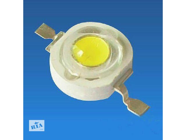 купить бу Светодиоды высокой мощности (1W) тёпло-белые (10штук) в Павлограде
