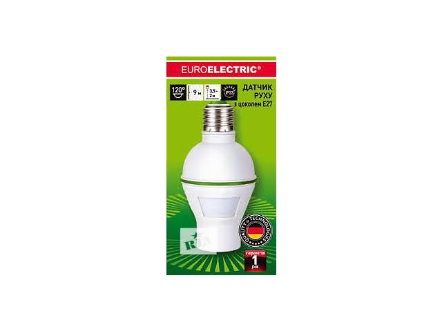 купить бу Световой датчик движения с цоколем Eurolamp ST-450LH в Днепре (Днепропетровск)
