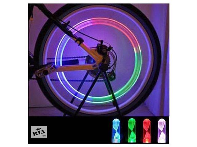 Подсветка колес на ниппель. Пара- объявление о продаже  в Полтаве