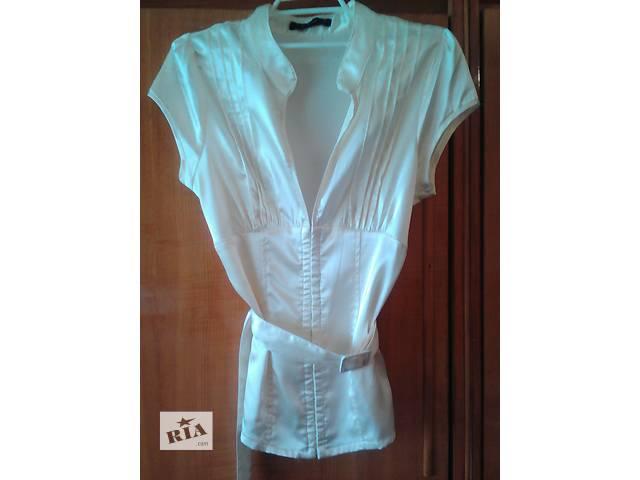 продам Праздничная блуза масляного цвета,р.12 бу в Мукачево