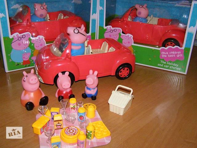 бу Свинка Пеппа набор и машина «Пикник» 8808-18А в Львове