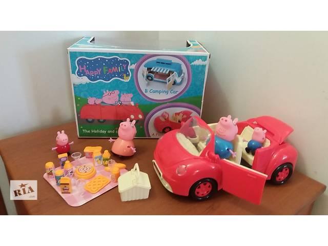 купить бу Свинка Пеппа игровой набор и машина «Пикник» 8808-18А в Днепре (Днепропетровск)