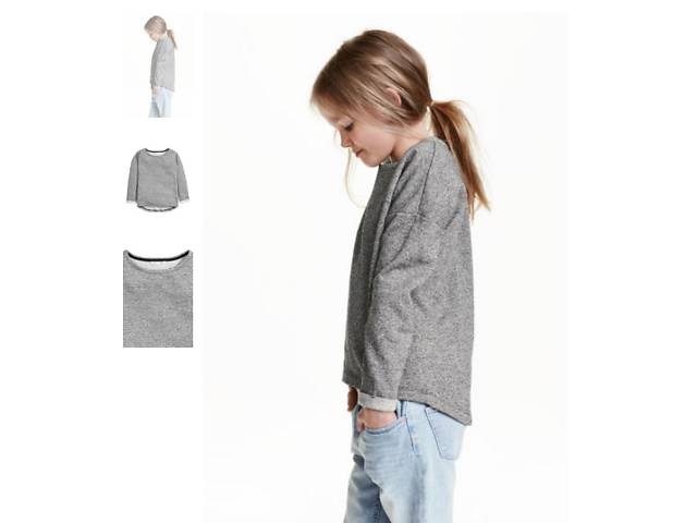 Свитшот H&M для девочек либо для маленьких и худеньких девушек- объявление о продаже  в Киеве