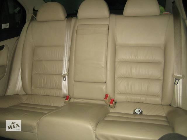 купить бу  Сиденье для легкового авто Skoda SuperB кожа. Оригинал в Полтаве