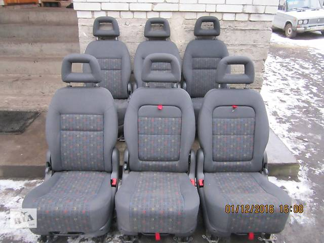 продам  Сиденье для легкового авто Volkswagen T5 (Transporter) бу в Сокале