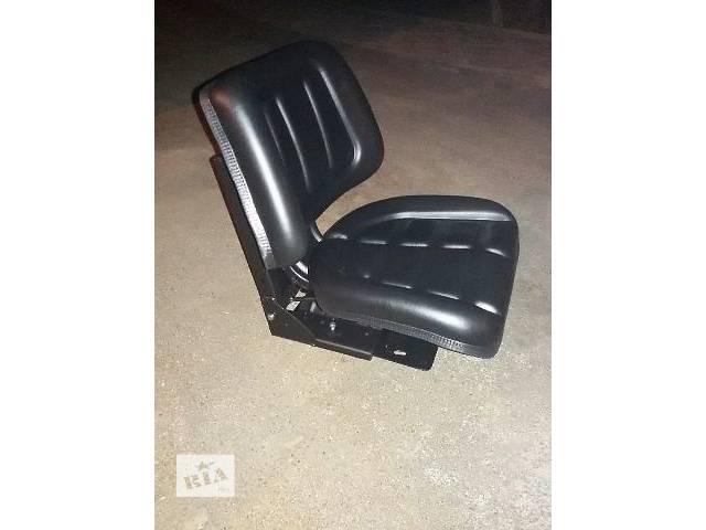 сиденье водителя с амортизацией на мтз-80