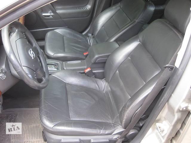 бу  Сиденье кожаные сидіння шкіряне салон Opel Vectra C Вектра С в Львове