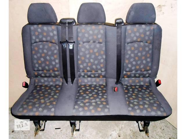 Сиденье, сидіння, сидушка двойка тройка Мерседес Вито Віто (Виано Віано) Mercedes Vito (Viano) 639- объявление о продаже  в Ровно