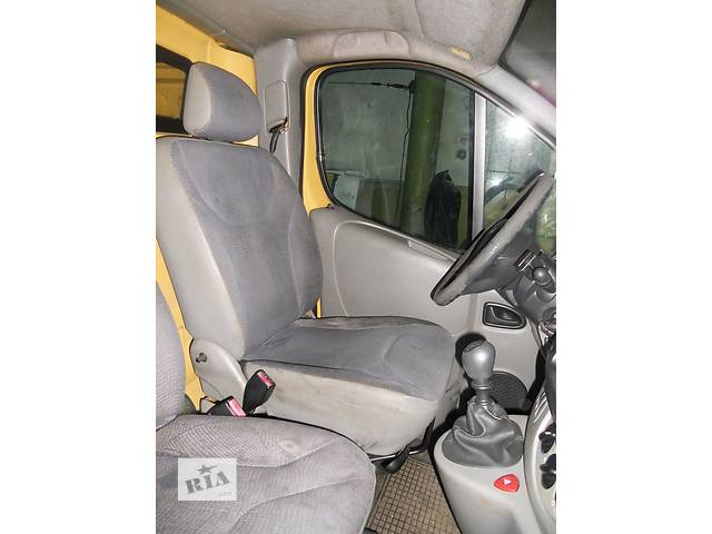 купить бу Сиденье водительское на Renault Trafic, Opel Vivaro, Nissan Primastar в Ровно