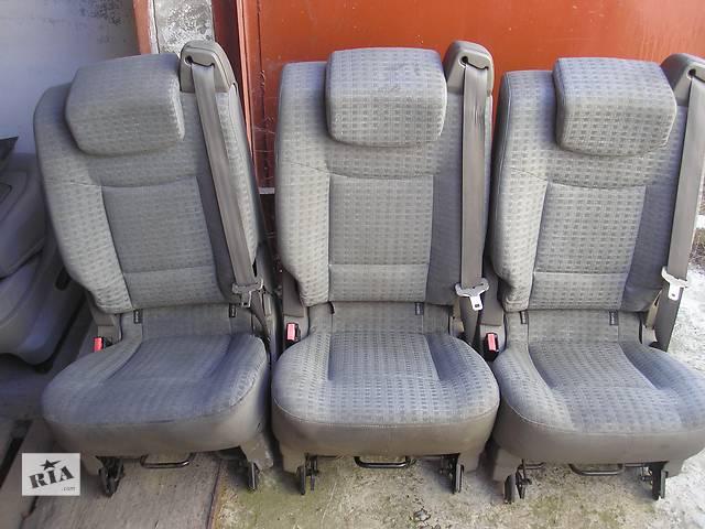 купить бу сидения рено еспейс 4 в Мукачево