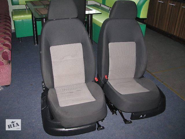 продам Сидіння передні, задні для Skoda Octavia A5 Хетчбек 2005р бу в Львове