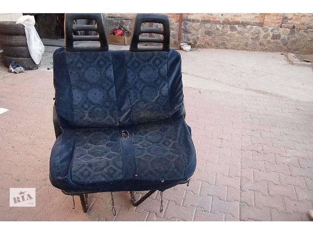 купить бу сидение двойной пассажира на фиат дукато пежо боксер 2000рв раскладное в Черновцах