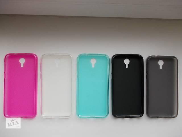 продам Силиконовый бампер для телефона Homtom HT3 бу в Киеве