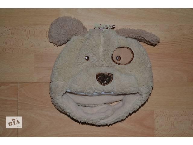 продам Симпатичная шапочка-песик на объем головы 46-48 см бу в Маневичах
